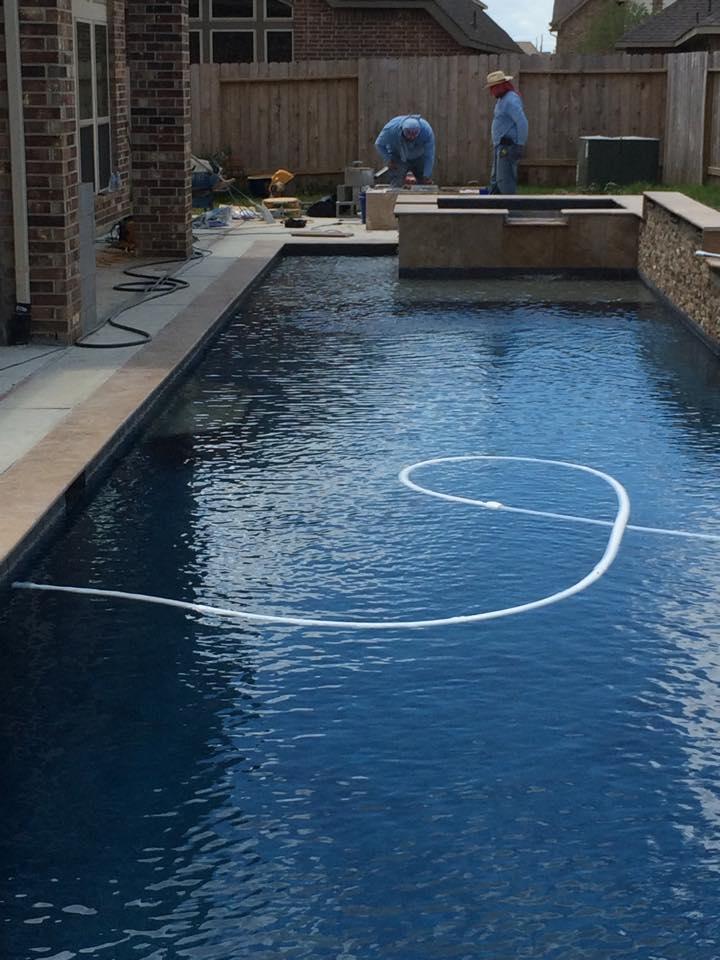 Herzog Swimming Pool Katy Texas Pool Builder Sahara Pools Katy Tx