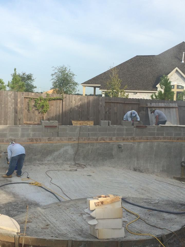 Lauhoff Swimming Pool Katy Texas Pool Builder Sahara Pools Katy Tx