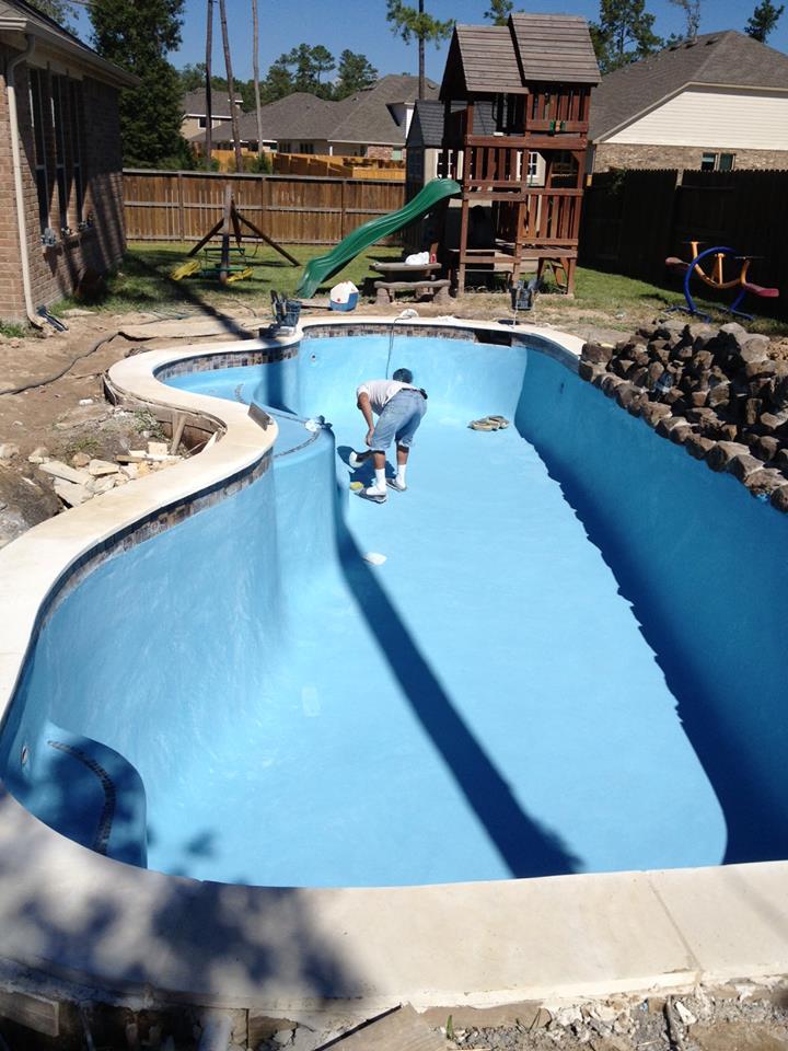 Porras Swimming Pool Katy Texas Pool Builder Sahara