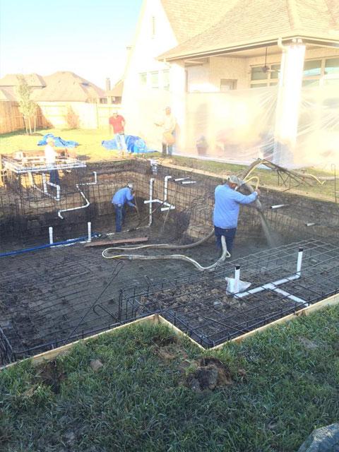 Varshochi Swimming Pool Katy Texas Pool Builder Sahara Pools Katy Tx