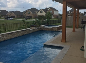 Campbell-Gilles pool & spa | Sahara Construction