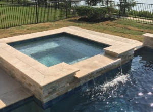Cross Creek Ranch Pool and Spa - Fulshear, TX - Sahara Custom Pools