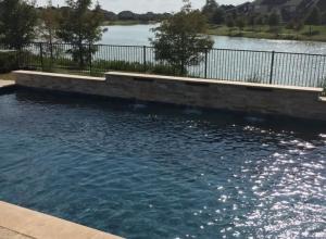 Cross Creek Ranch Pool and Spa - Fulshear, TX - Sahara Custom Pools