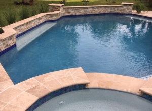 Custom Pool, Spa & Pergola | Rankin Family | Sahara Construction