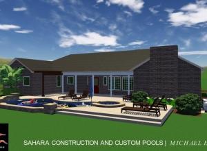 Custom Pool, Spa & Pergola | Rankin Family | Sahara Construction