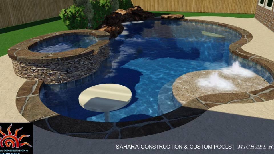 Vela Swimming Pool Katy Texas Pool Builder Sahara
