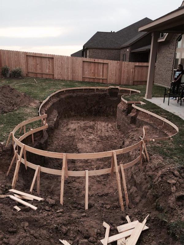 Wright Swimming Pool Katy Texas Pool Builder Sahara