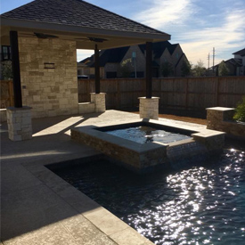 Husser Family Pool & Patio Kitchen Katy, Texas