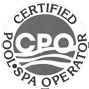 CPO Certified Pool and Spa Operator Logo