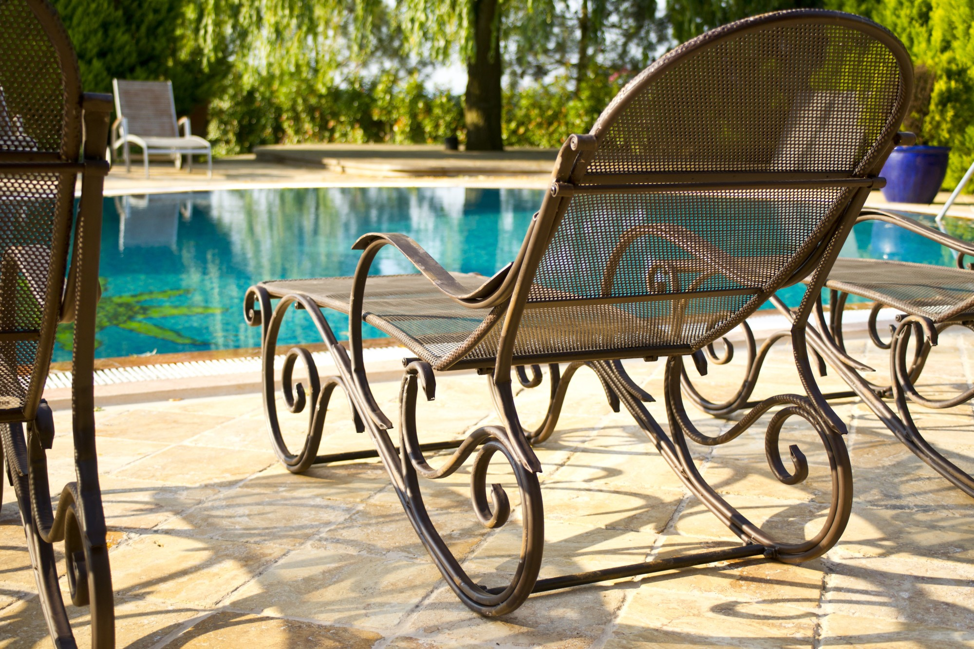 The Different Types of Pool Furniture Explained